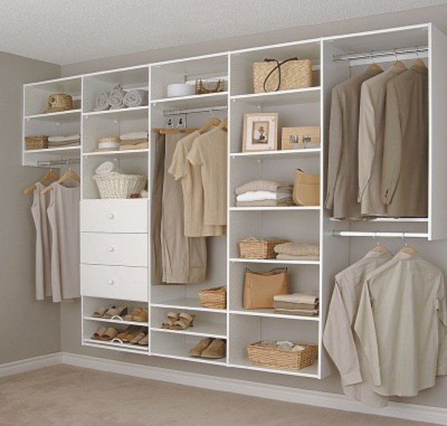 Markae closets design closet storage solutions in for Custom closet images