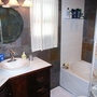 tile installation and complete bathroom renovation