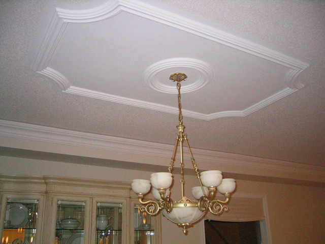 Decorative Ceiling From Molding Ceilings Pinterest