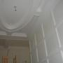 custom plaster wainscotting
