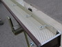 New trough with ALU-REX leaf guard fastening syste