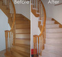 Carpet Stairs Before and After