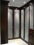 photo of large walk-in master bedroom closet