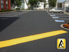 Parking Lot Black Top Asphalt Sealing