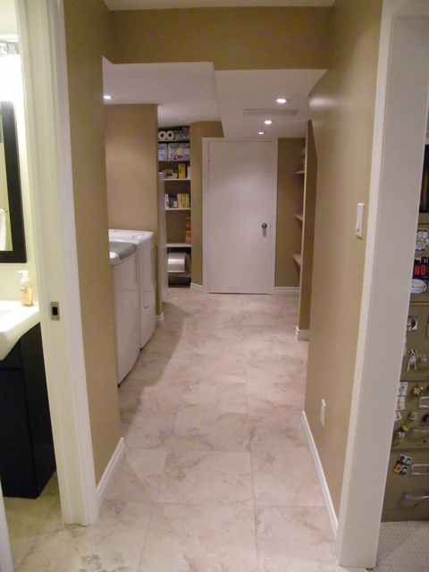Storage/Laundry room