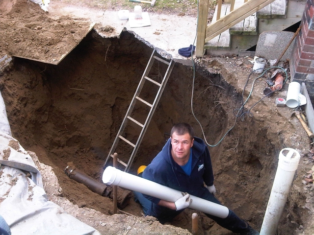 photo of Sewer Main Replacement from a DrainWorks Plumbing review