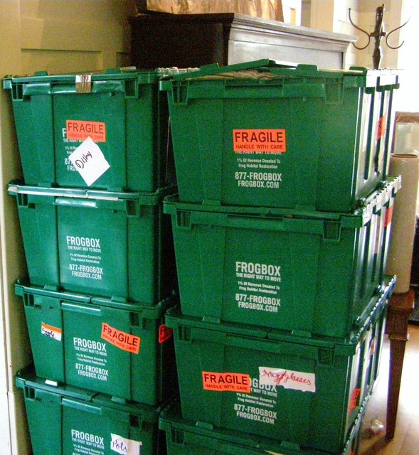 photo of Eco Friendly moving boxes  from a FROGBOX review