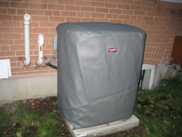 photo of Carrier Air Conditioner Cover from a Cuvers review