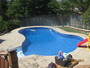 photo of Backyard Pool, Patio & Fencing from a Backyard Getaways Inc review