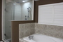 photo of SHOWER ROOM RENO IN MASTER BATH EN SUITE from a David Utarid Custom Tile Service review