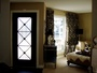 Prefinished Black Wrought Iron Door