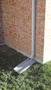 Downspout splash pad-Water must be extended away from your foundation by a mininimum.JPG
