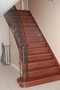 photo of Replacing carpets on stairway and upper floor landing with hardwood. from a Canada Hardwood Flooring Inc. review
