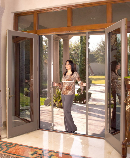 Phantom screens ontario screen systems inc windows for Universal sliding screen door