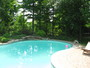 photo of Backyard Pool and Landscaping from a CLASSIC POOLS & LANDSCAPING INC. review
