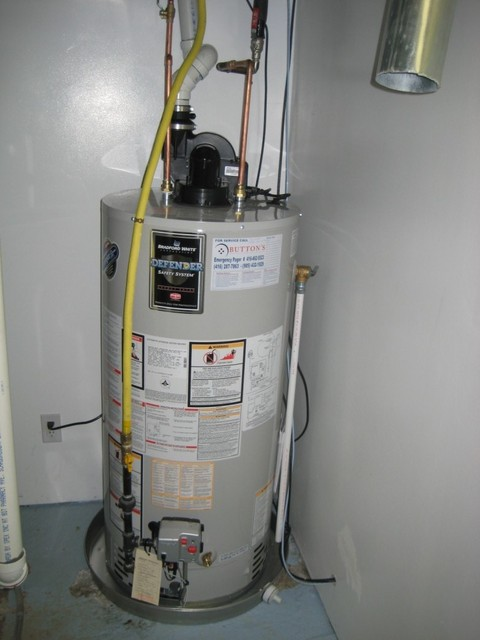 photo of Install New Hot Water Tank from a Button's Heating Inc. review