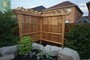 landscaping project in toronto with pergola and armor stones