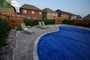 flagstone & interlocking pool deck in toronto