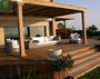 IPE deck with pergola in toronto