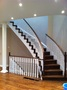 two tone stair case with white pickets.JPG