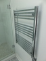 Heated towel bar