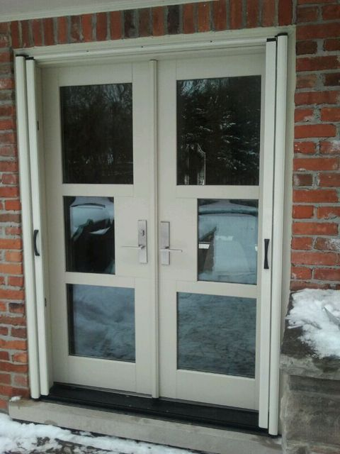 Invisible Screens Canada Windows Amp Doors Installation