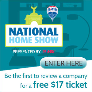 Free ticket to the National Home Show