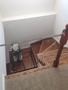 photo of Staircase and hardwood refinishing from a NewRidge Refinishing review