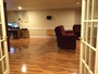 photo of Basement laminate install from a NewRidge Refinishing Group review