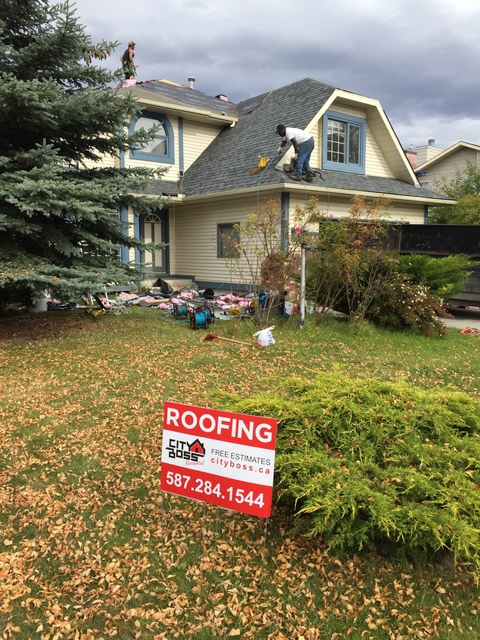 City Boss Residential Roofing Roofing In Calgary Homestars