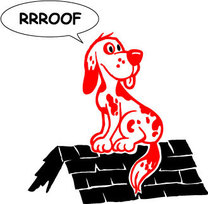Red Dog Roofing's logo