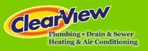 Clear View Plumbing And Heating's logo