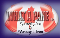 What A Pane's Logo