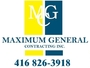 Maximum General Contracting Inc.'s logo