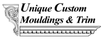 Unique Custom Moldings and Trim's logo