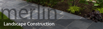 Merlin Landscape Construction's logo