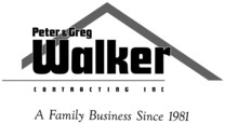 Peter & Greg Walker Contracting Inc.'s logo