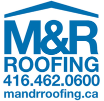 M&R Roofing's logo