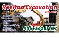 Reekon Excavation and Shoring's logo