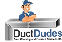 DuctDudes Duct Cleaning and Furnace Services LTD 's logo