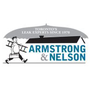 Armstrong and Nelson Eavestroughing's logo