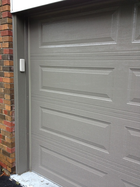 He Included Custom Aluminum Trim For The Flashing Around The Door And  Installed A Premium Opener With Battery Backup. Many Of Our Neighbors Have  ...