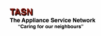 The Appliance Service Network's logo