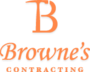 Browne's Contracting's logo