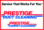 Prestige Duct Cleaning's logo