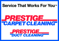 Prestige Carpet Cleaning's logo
