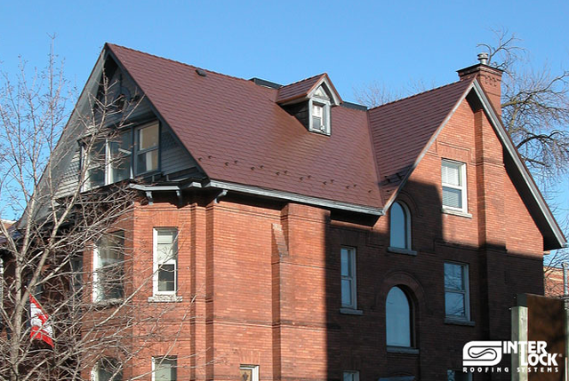 Interlock Metal Roofing On Roofing In Hamilton Homestars