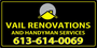 Bill from Vail Renovations and Handyman Services
