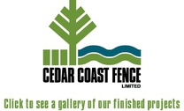 Cedar Coast Fence Ltd's logo