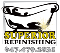 Superior Refinishing's logo